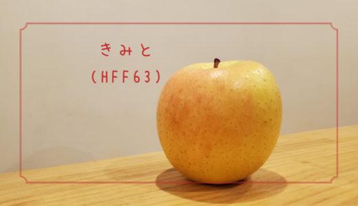 【きみと(HFF63)】りんご栽培の省力化を目指した新しいりんご|りんごの品種を勉強する#6