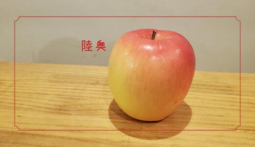 【陸奥】栽培方法で皮の色が変わるちょっとふしぎなりんご|りんごの品種を勉強する#9