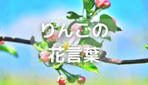 りんごの花言葉ってなに?